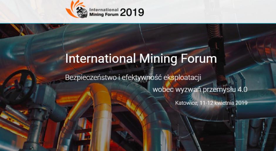 International Mining Forum w  Międzynarodowym Centrum Kongresowym 2019