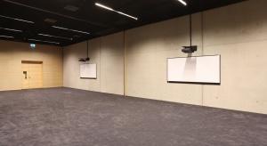 Sala konferencyjna 1 +2 w Międzynarodowym Centrum Kongresowym