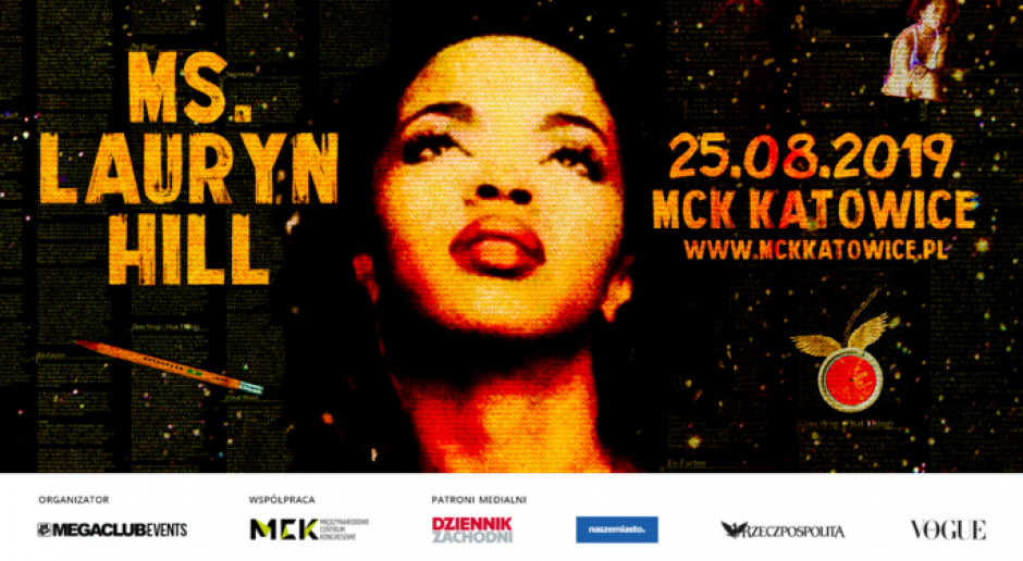 Koncert Lauryn Hill w Międzynarodowym centrum Kongresowym w Katowicach