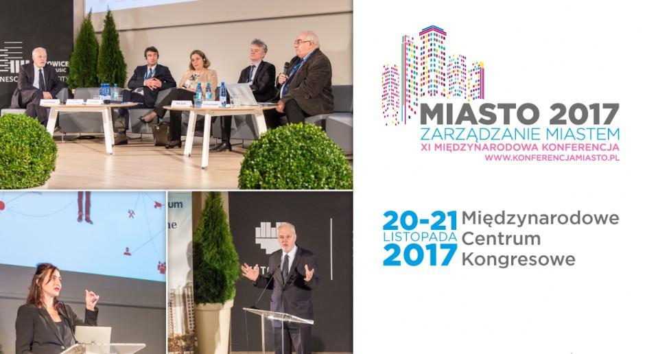 Zarządzanie miastem konferencja w MCK