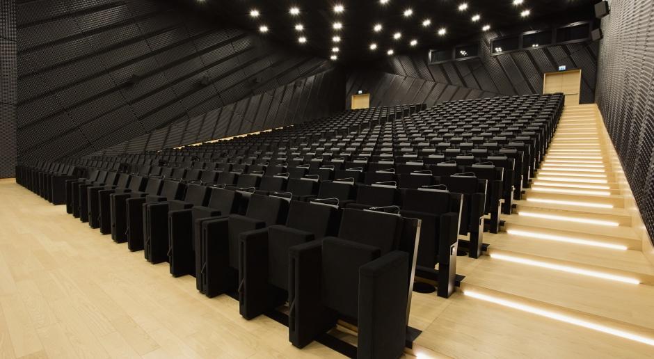 Sala audytoryjna w MCK