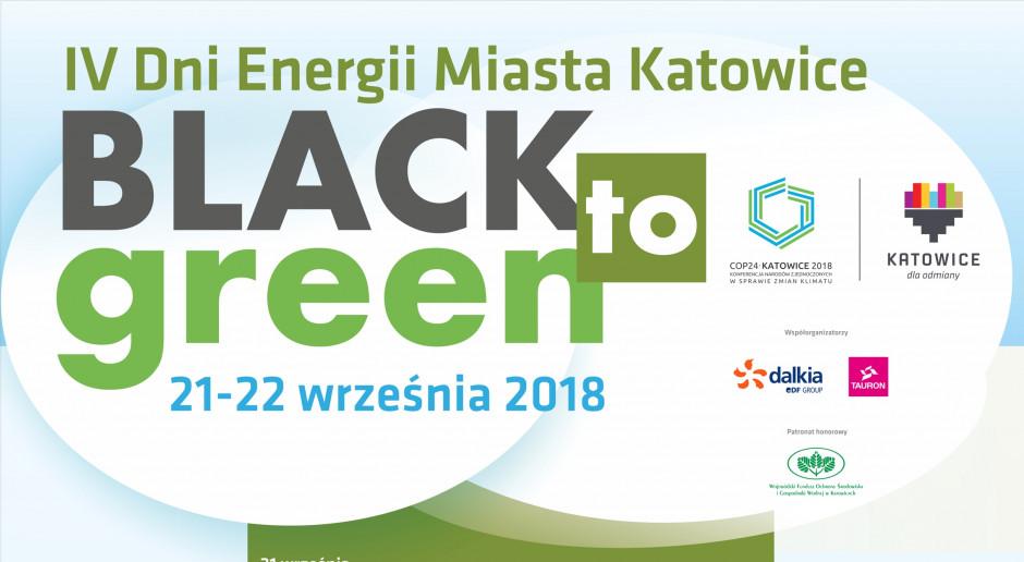 Konferencja Black to Green w Międzynarodowym Centrum Kongresowym w Katowicach
