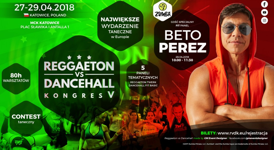 Reageton_V Międzynarodowe Centrum Kongresowe 2018