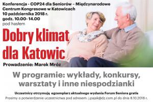 Konferencja dobry klimat dla Katowic w Międzynarodowym Centrum Kongresowym w Katowicach