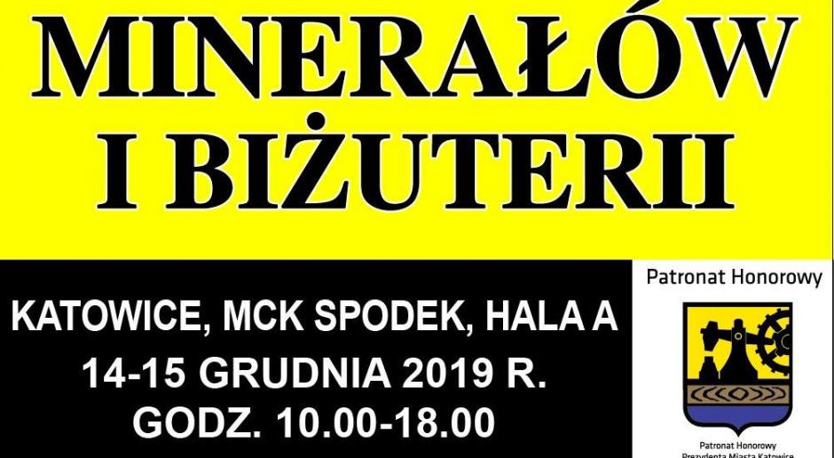 Gielda minerałów Międzynarodowe Centrum Kongresowe w Katowicach 2019