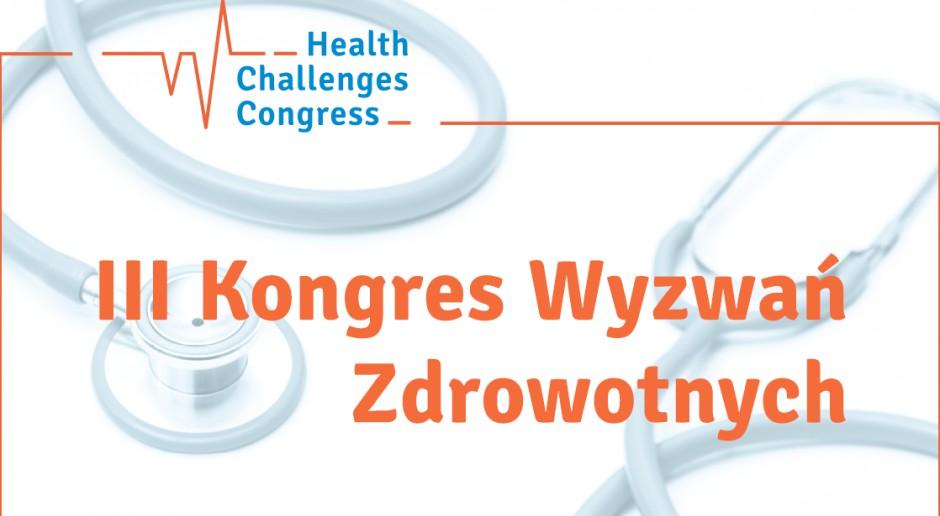Kongres wyzwań zdrowotnych w Międzynarodowym Centrum Kongresowym