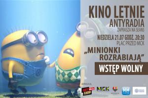 Minionki rozrabiają - Kino Letnie Antyradia MCk 2019