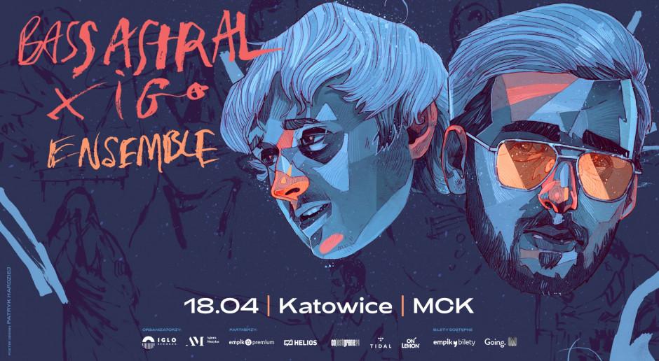 Bass Astral x Igo koncert w MCK