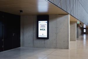 Infokioski w MCK ułatwiające nawigację