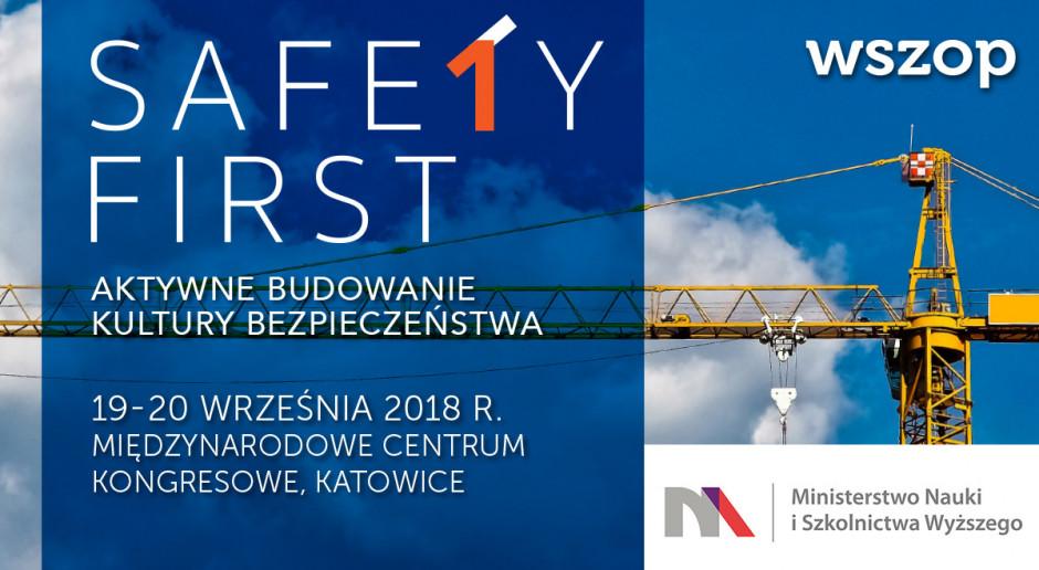 forum safety first w międzynarodowym centrum kongresowym